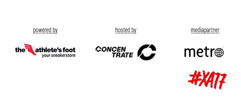 Hosted by Concentrate, powered by The athlete's foot
